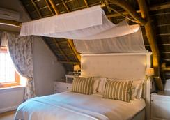 Rickety Bridge Manor House - Franschhoek - Bedroom