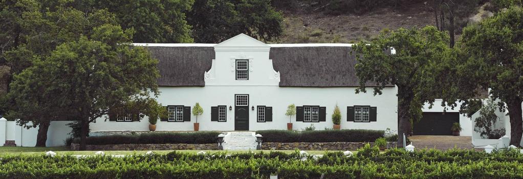 Rickety Bridge Manor House - Franschhoek - Building