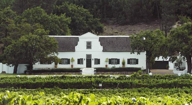 Rickety Bridge Manor House - Franschhoek - Building