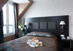Hôtel Brittany Opéra - Paris - Bedroom