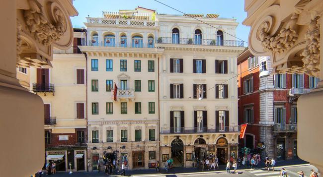 Regno Hotel - Rome - Building