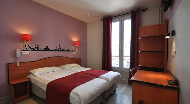 Grand Hotel De Turin - Paris - Bedroom