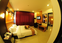 Hotel Swarna Dwipa - Palembang - Bedroom