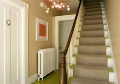 Vanessa Noel Hotel Green - Nantucket - Stairs
