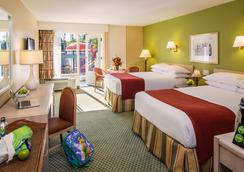 Howard Johnson Anaheim Hotel And Water Playground - Anaheim - Bedroom