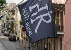 Hotel Royal - New Orleans - Outdoor view