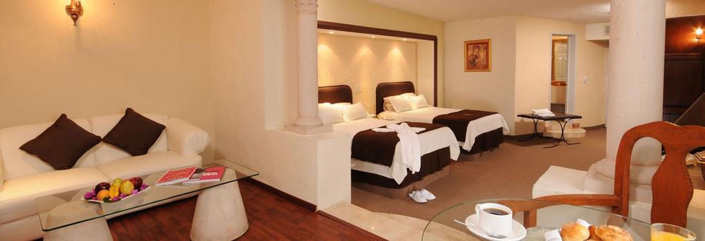 Hotel Spa Hacienda Baruk - Zacatecas - Bedroom