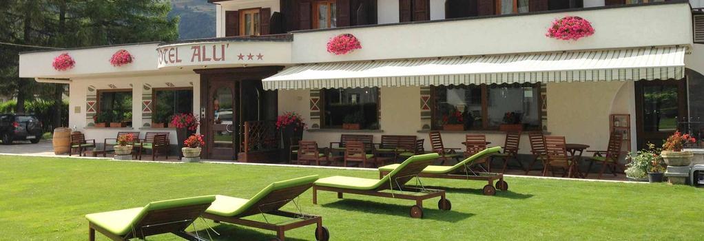Hotel Alù - Bormio - Outdoor view