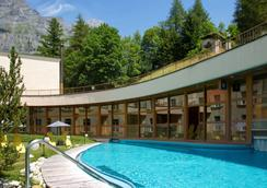 Thermalhotels & Walliser Alpentherme Leukerbad - Leukerbad - Pool