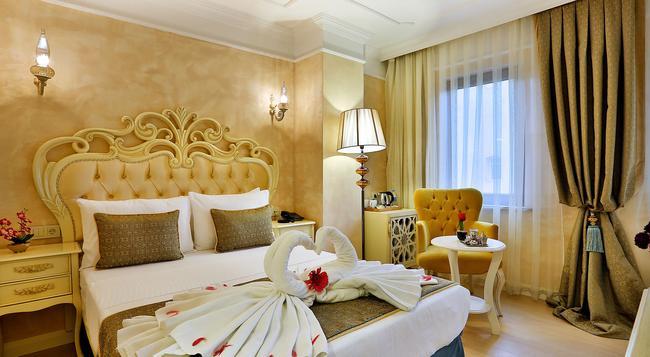 Edibe Sultan Hotel - Istanbul - Bedroom
