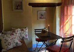 La Città Ideale Suites - Pienza - Living room