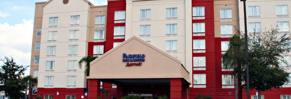 Fairfield Inn and Suites by Marriott Orlando Near Universal Orlando Resort - Orlando - Building