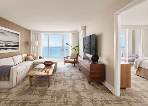 Alohilani Resort Waikiki Beach - Honolulu - Living room