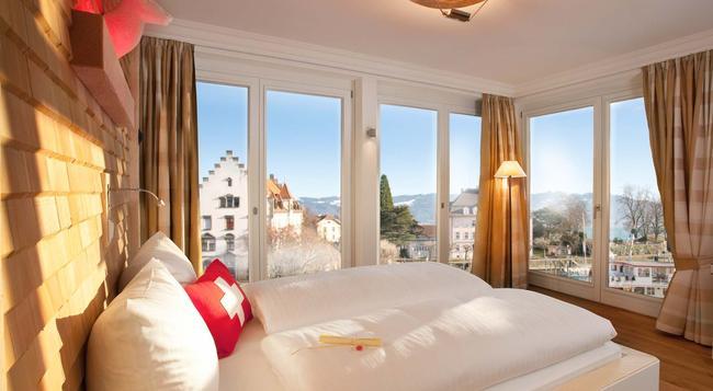 Hotel Helvetia - Lindau - Bedroom