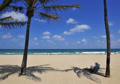 Blue Seas Courtyard - Lauderdale-by-the-Sea - Beach