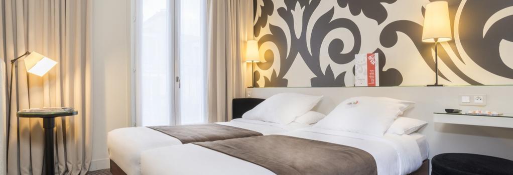 Gardette Park Hotel - Paris - Bedroom