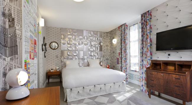 Hotel Crayon - Paris - Bedroom