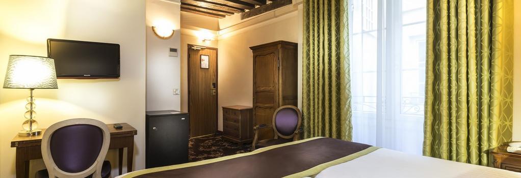 Crystal Hôtel - Paris - Bedroom