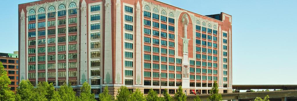St. Louis City Center Hotel - St. Louis - Bedroom