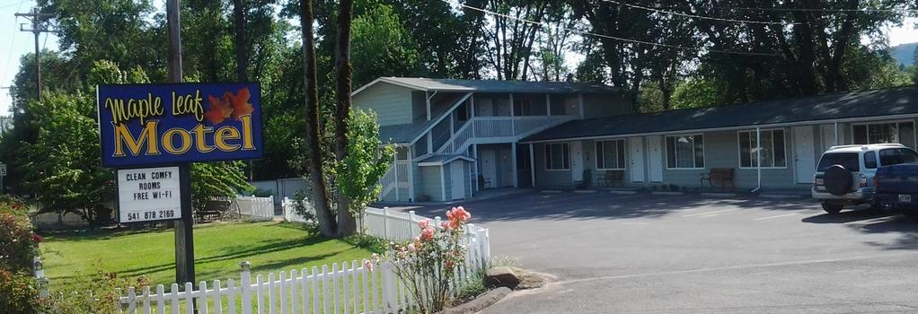 Maple Leaf Motel - Shady Cove - Building