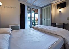Relais des 3 Pommes - Bayeux - Bedroom