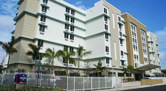SpringHill Suites by Marriott Miami Airport East-Medical Center - Miami - Building
