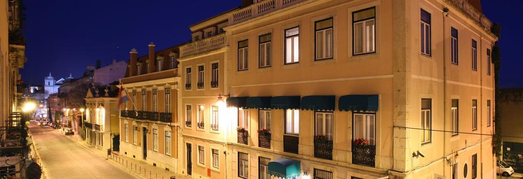 As Janelas Verdes Boutique Hotel - Lisbon - Building