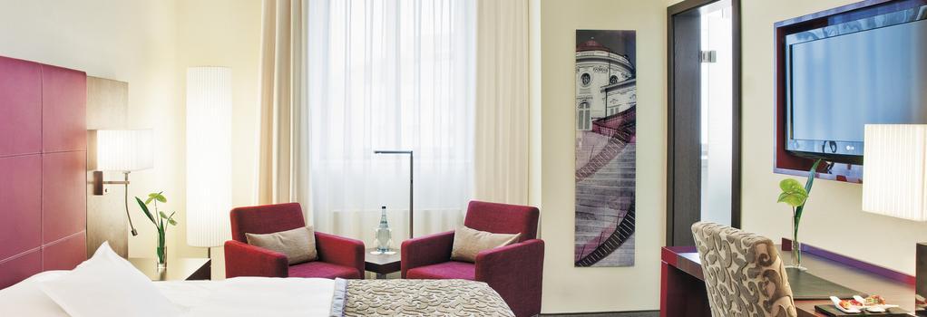 Steigenberger Graf Zeppelin - Stuttgart - Bedroom