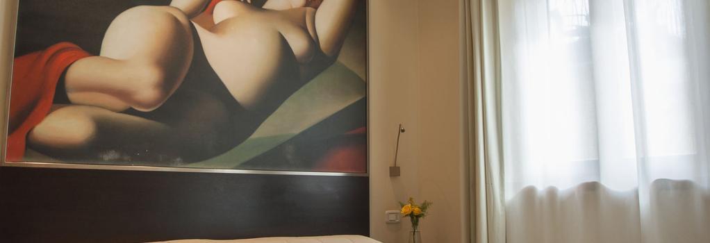 Hotel Antico Borgo - Riva del Garda - Bedroom