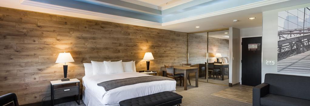 The Row Hotel - San Jose - Bedroom