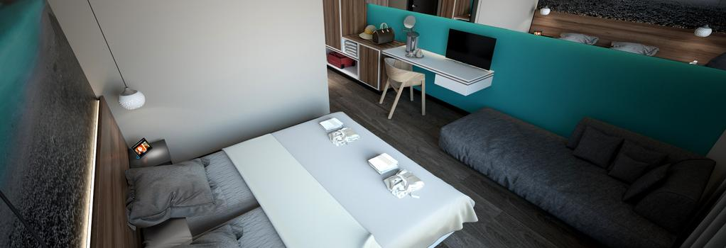 Atrium Hotel - Rethymno - Bedroom