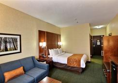 Comfort Suites Appleton Airport - Appleton - Bedroom
