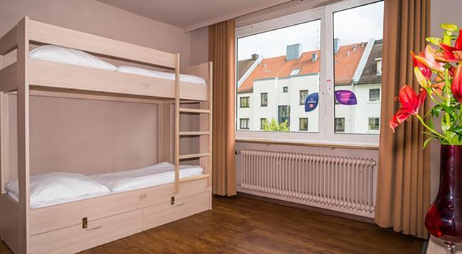 Smart Stay Hostel Munich City - Munich - Bedroom