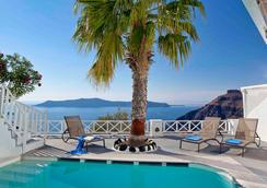 Cliff Side Suites - Thera - Pool