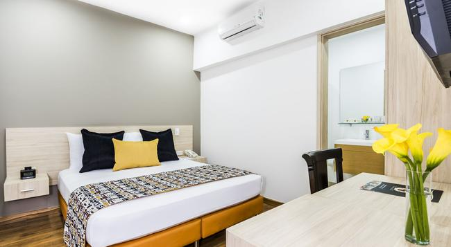 Hotel Asturias Medellin - Medellin - Bedroom