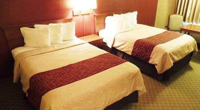 Red Roof Inn Meridian - Meridian - Bedroom
