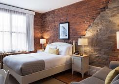 Le Saint-Pierre, Auberge Distinctive - Québec City - Bedroom