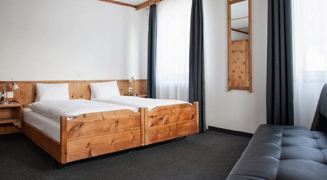Hotel Alte Post - Davos - Bedroom