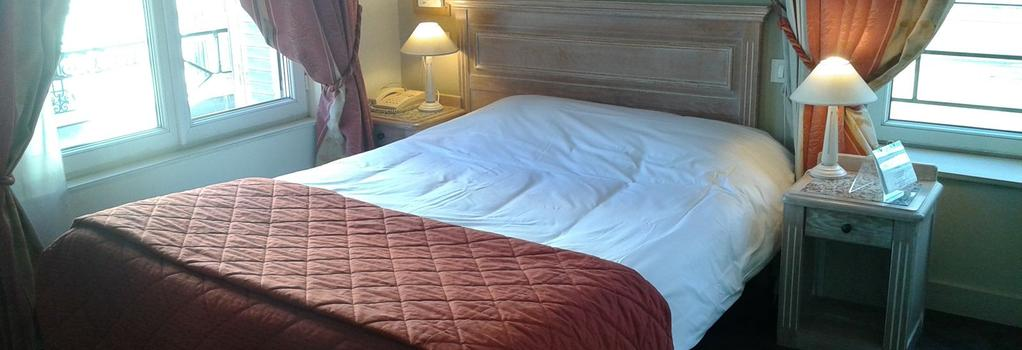 Brit Hotel Aux Sacres - Reims - Bedroom