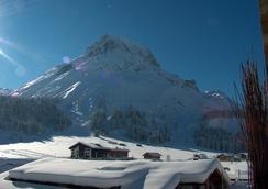 Hotel-Garni Felsenhof - Lech am Arlberg - Outdoor view
